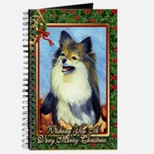 Pekingese Dog Christmas Journal