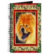 Chow Chow Dog Christmas Journal
