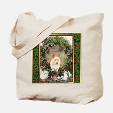 Welsh Corgi Pembroke Christmas Tote Bag