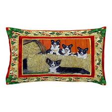 Welsh Corgi Cardigan Dog Christmas Pillow Case