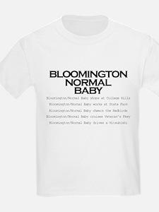 Bloomington Normal Baby T-Shirt