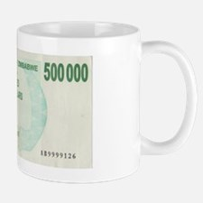 Zimbabwe(Africa) 500.000Dollar bill (Fr Mug