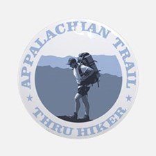 Appalachian Trail -Thru Hiker Round Ornament