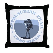 Appalachian Trail -Thru Hiker Throw Pillow