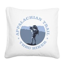 Appalachian Trail -Thru Hiker Square Canvas Pillow