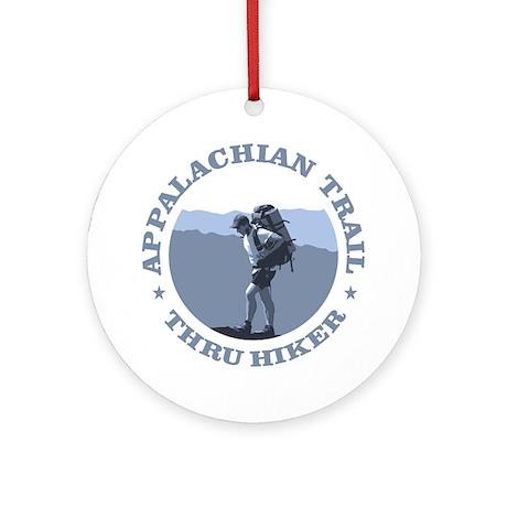 Appalachian Trail -Thru Hiker Round Ornament
