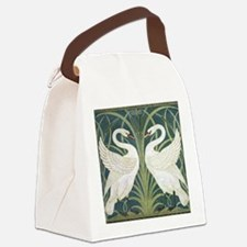 Swan and Rush Canvas Lunch Bag