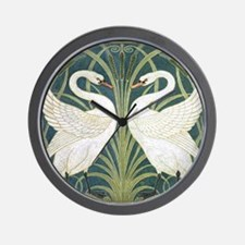 Swan and Rush Wall Clock