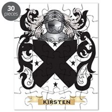Kirsten Coat of Arms (Family Crest) Puzzle