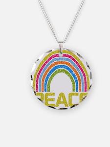Peace Rainbow Necklace