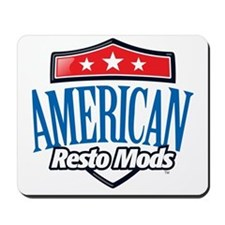 American Resto Mods Simple Logo Mousepad