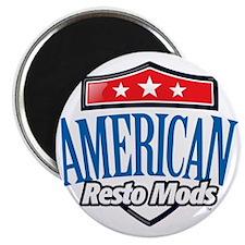 American Resto Mods Simple Logo Magnet
