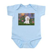 Lilies 4 / Bichon 1 Infant Bodysuit