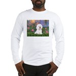 Lilies 4 / Bichon 1 Long Sleeve T-Shirt