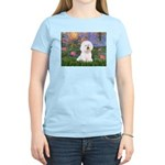 Lilies 4 / Bichon 1 Women's Light T-Shirt
