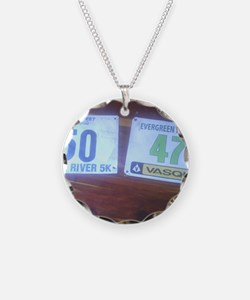 No More Excuses Running Necklace