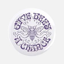 """bees-chance2-LTT 3.5"""" Button"""