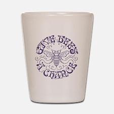bees-chance2-LTT Shot Glass