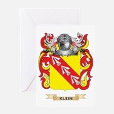 Klein Coat of Arms (Family Crest) Greeting Card