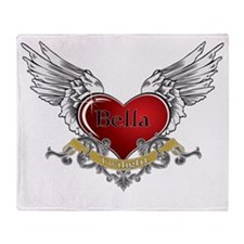 Twilight Bella Heart Wings 3 Throw Blanket