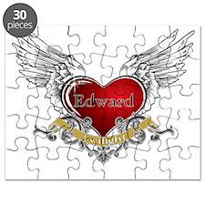 Twilight Edward Heart Wings 3 Puzzle