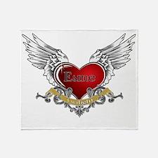 Twilight Esme Heart Wings 3 Throw Blanket