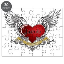 Twilight Jacob Heart Wings 3 Puzzle