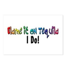 Blame It On Tequila Postcards (Package of 8)