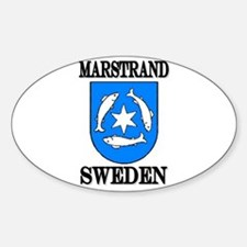 The Marstrand Store Oval Decal