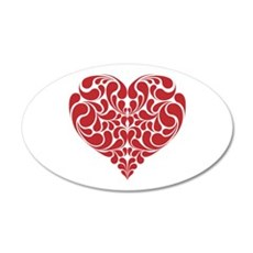 Real Heart Wall Sticker