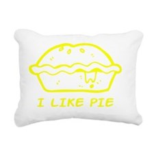 I Like Pie Rectangular Canvas Pillow