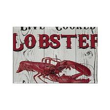 Lobster Rectangle Magnet