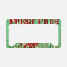 Fresh Crab 2 License Plate Holder