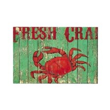 Fresh Crab 2 Rectangle Magnet