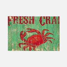 Fresh Crab 2 Rectangle Magnet