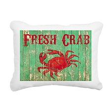 Fresh Crab 2 Rectangular Canvas Pillow
