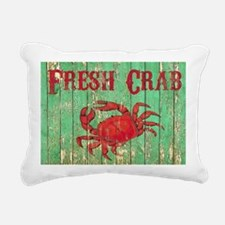 Fresh Crab 2 Rectangular Canvas Pillow