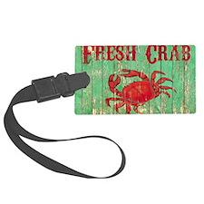 Fresh Crab 2 Luggage Tag