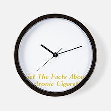 e-Cigs Wall Clock