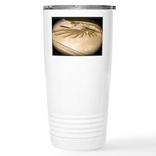 Gold Trans AM Bird Travel Mug