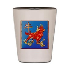 SHOWER CRTAIN Year Of The Ox Shot Glass