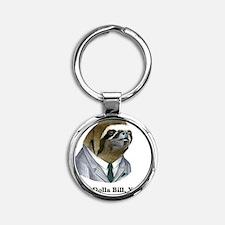 Dolla Dolla Bill, Yall sloth Round Keychain