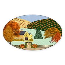 Pumpkin Hollow Decal