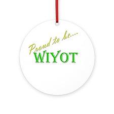 Wiyot Ornament (Round)