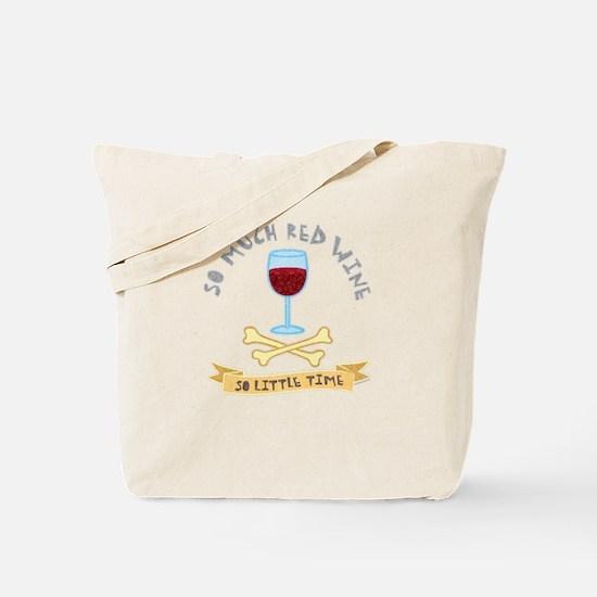 Red Wine Tasting Tote Bag