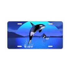 Orca 1 Aluminum License Plate