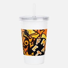 Facha Art Acrylic Double-wall Tumbler