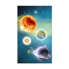 New Solar System Decal