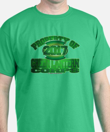 Proprety of GReen Lantern Corps T-Shirt