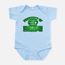 Proprety of GReen Lantern Corp Baby Light Bodysuit